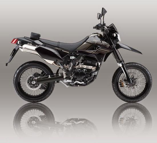 Kawasaki D Tracker X 250 Abu
