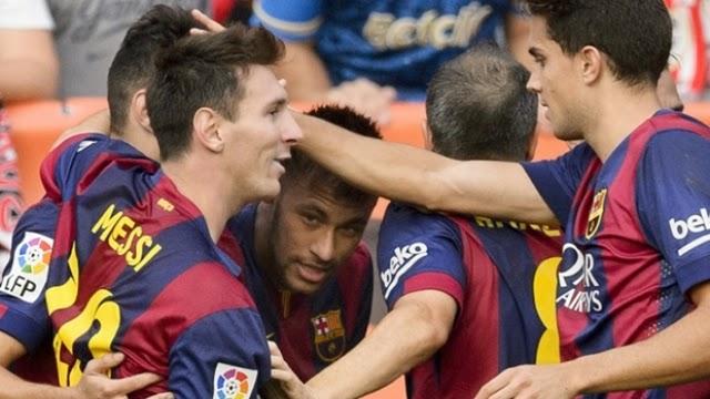 رسميا برشلونة باق في الليجا