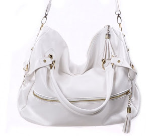 Free Shipping 2012 Lady Korean Hobo PU Tassel Leather Handbag Shoulder Bag Large
