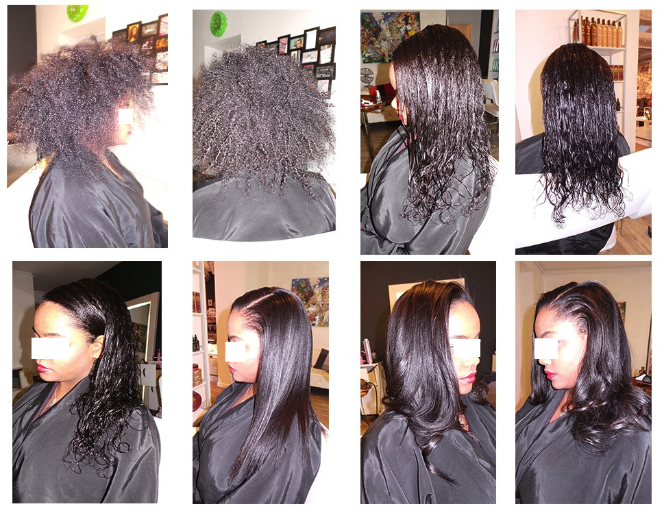 Lissage bresilien cheveux crepus avant apres for Lissage bresilien cheveux crepus salon
