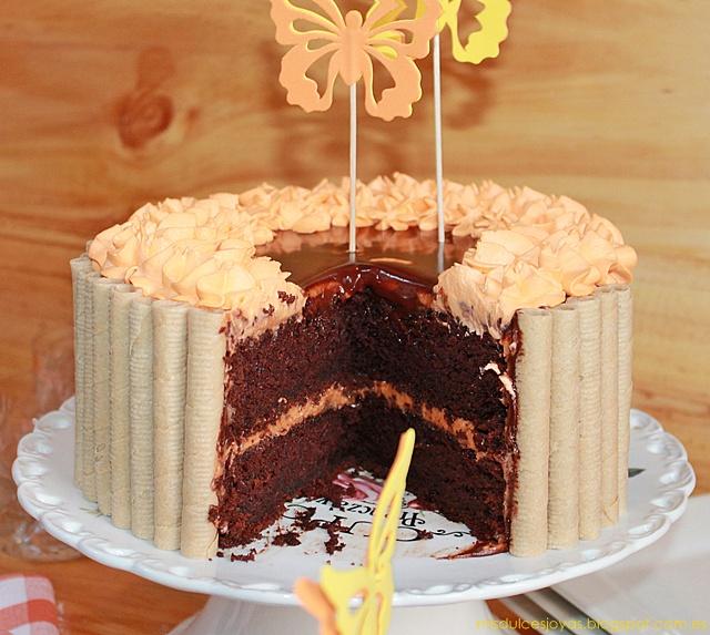 Chocolate Pumpkin Cake (Pastel de chocolate y calabaza)