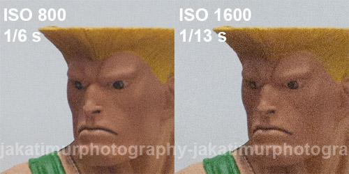Understanding ISO 800 to 1600