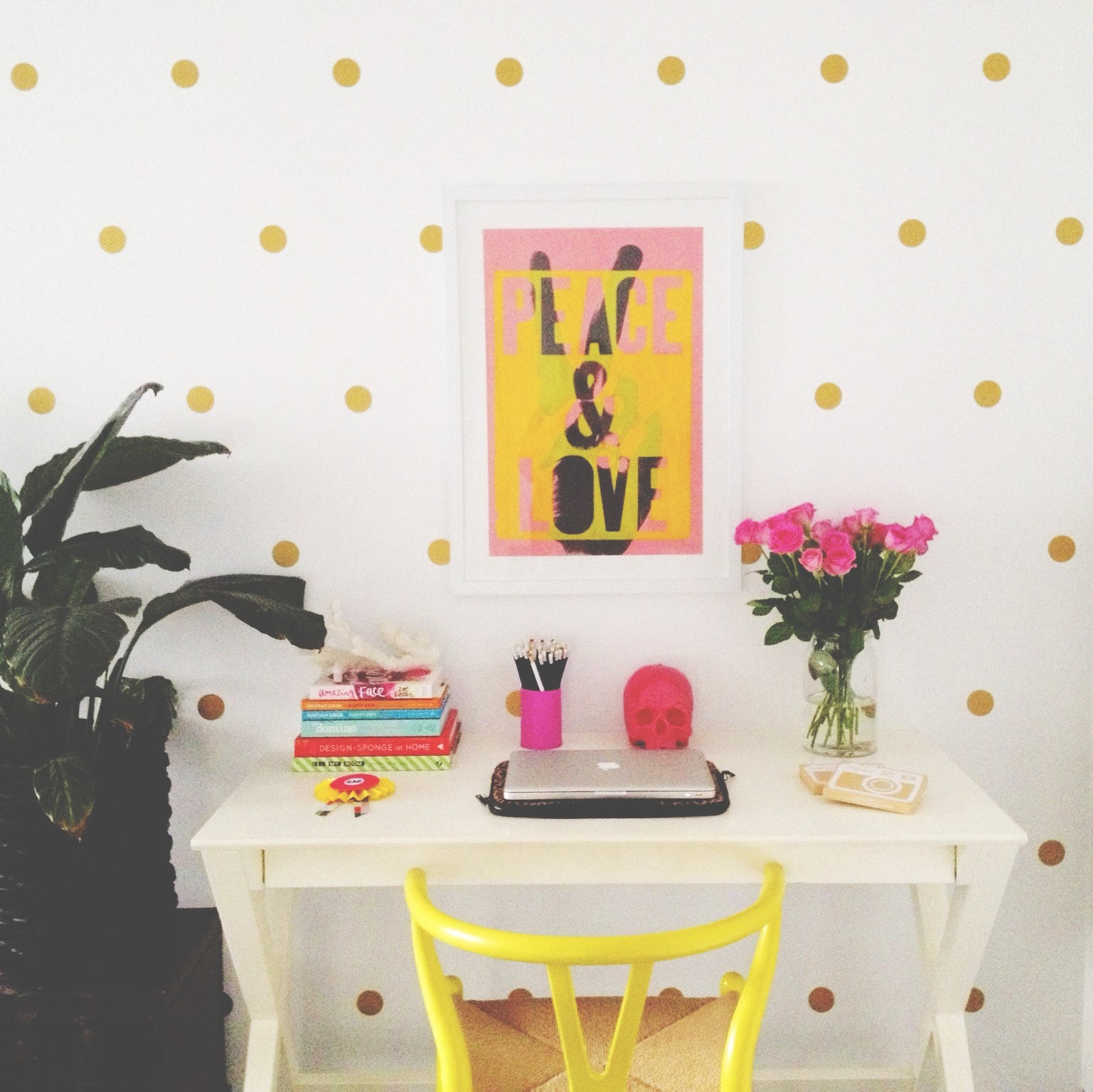 Honey and fizz polka dot wall stickers polka dot wall stickers amipublicfo Gallery