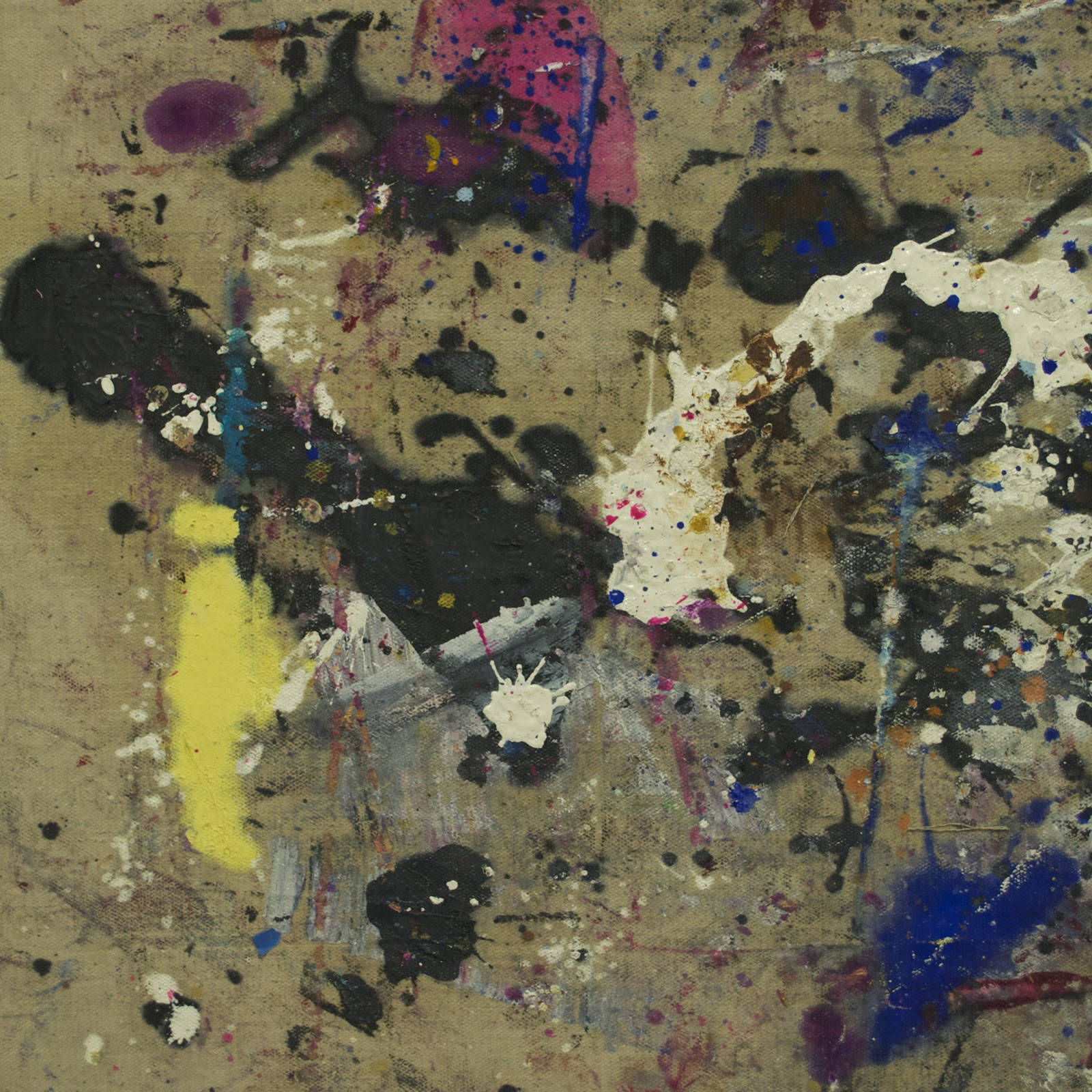 """tarp series 2 4 18""""x18"""" oil on canvas"""