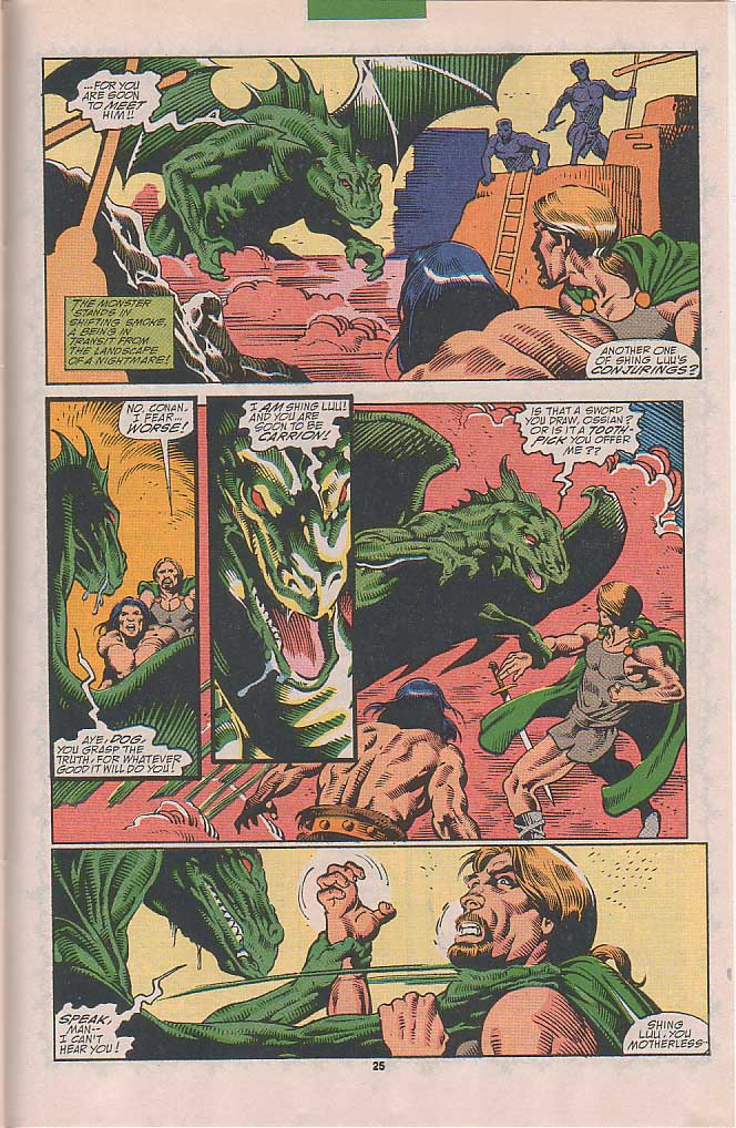 Conan the Barbarian (1970) Issue #251 #263 - English 19