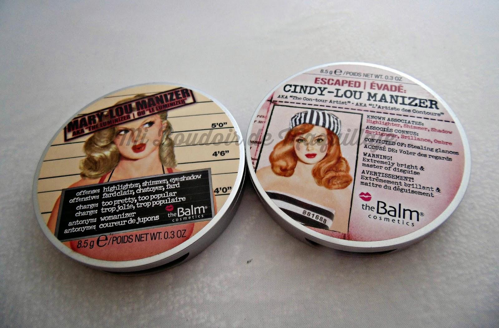 The Balm Mary-Lou Cindy-Lou Manizer