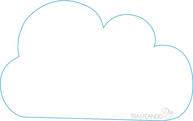 Molde nube imagui - Cojines de nubes ...