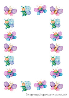 Clip Art Baby Borders for Word Documents