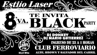 LA 8VA BLACK PARTY