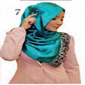 Cara Memakai Jilbab Kreasi Jilbab Shwal Satin Rose Untuk Kekantor