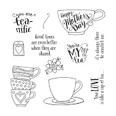 "March Stamp of the Month, ""Tea-riffic"""