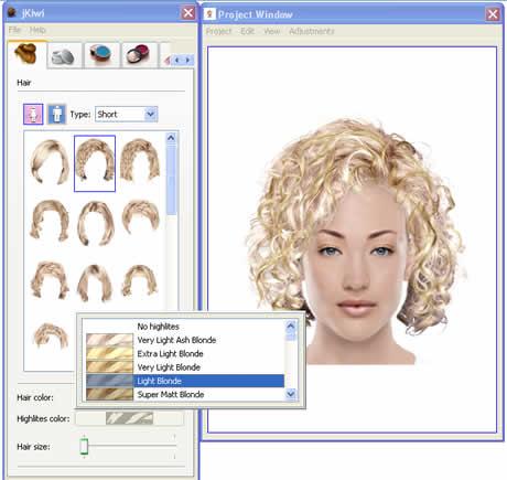 revolucionario simulador de cambio de look online Estilo