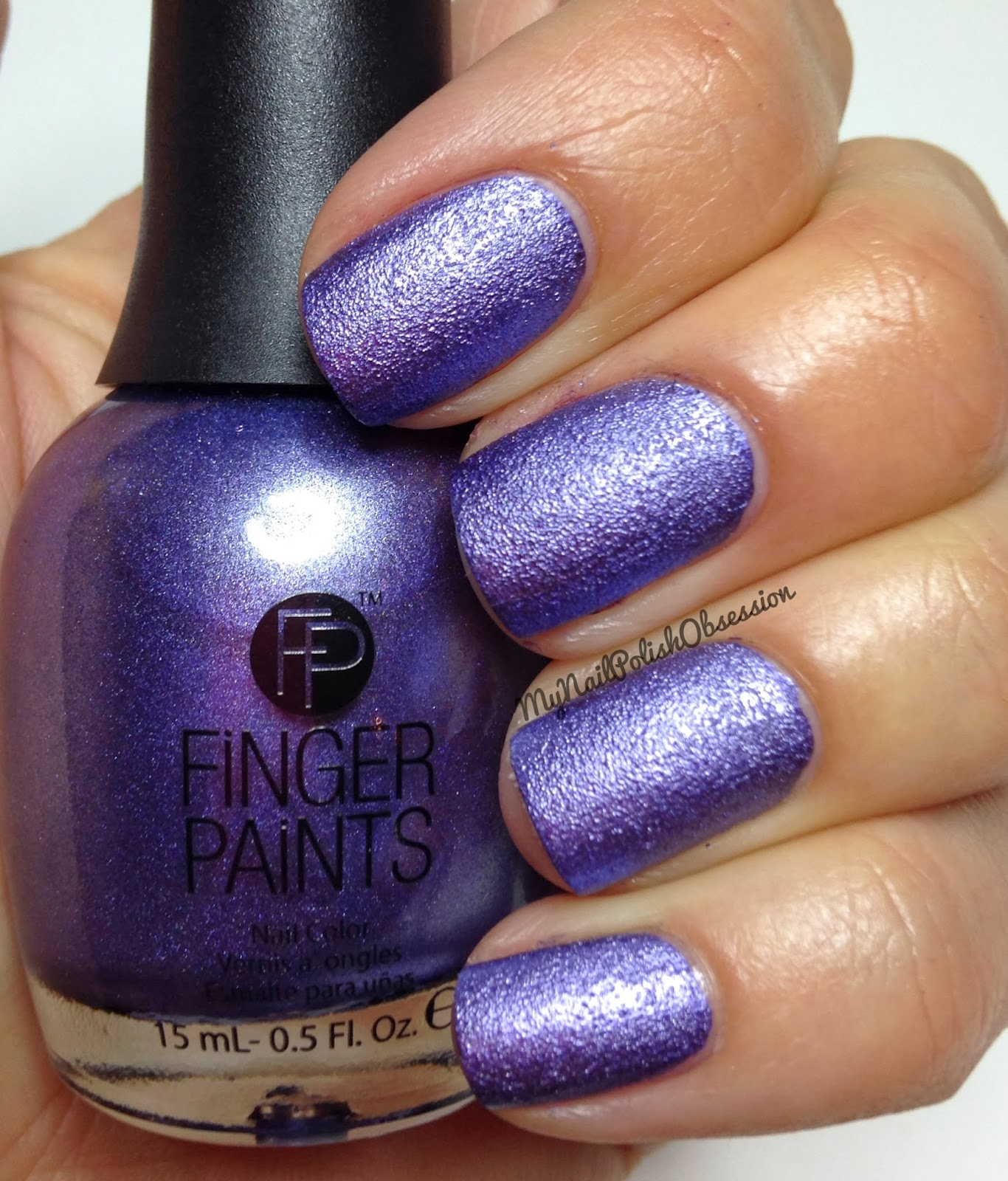 My Nail Polish Obsession: FingerPaints Rock Hard Lilac