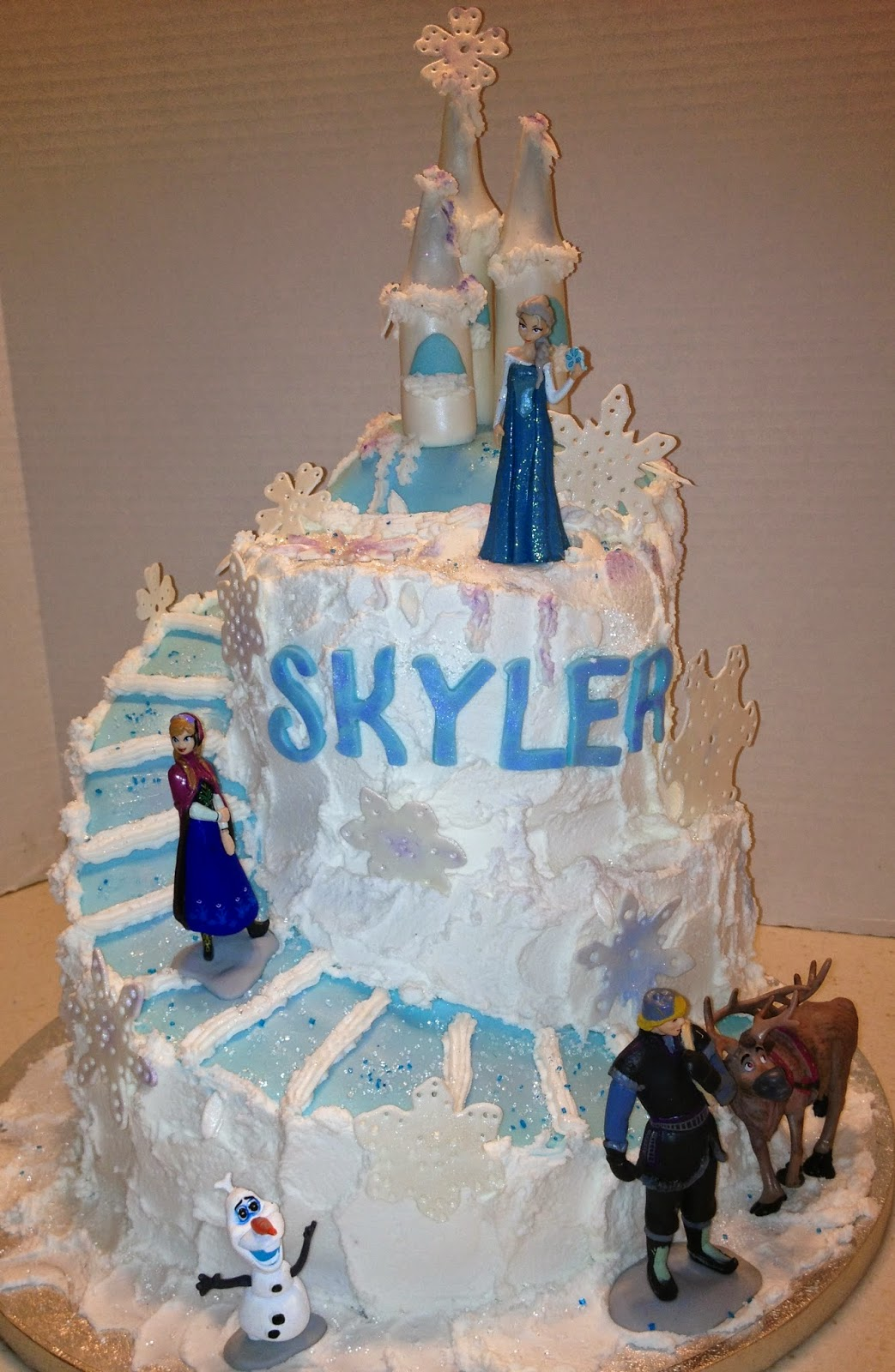 Marymel Cakes Frozen Themed 6th Birthday