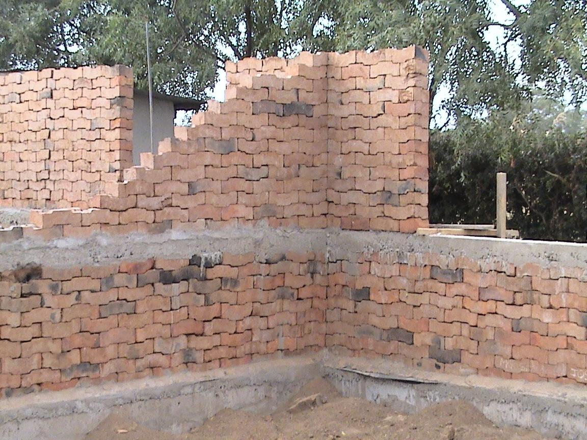 Masonry Wall Construction : Brick box image มิถุนายน