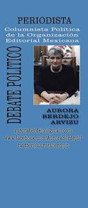 Muere Aurora Berdejo, reportera, columnista y periodista singular en México.