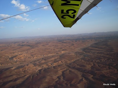 Fly Morocco 2011, latest hang gliding adventure, flying big distance world record