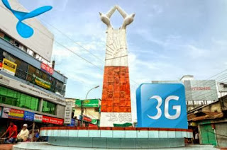 Grameenphone 3G is now available in Coverage Rangpur City