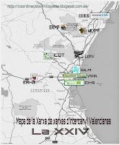 Mapa de la XXIV