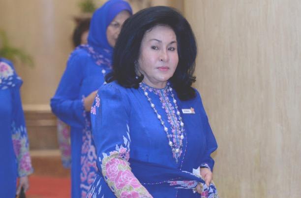 Video Rambut Rosmah Mansor Tersangkut di Kereta