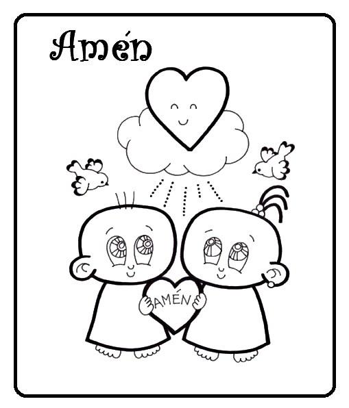Compartiendo por amor: Dibujos Ave María