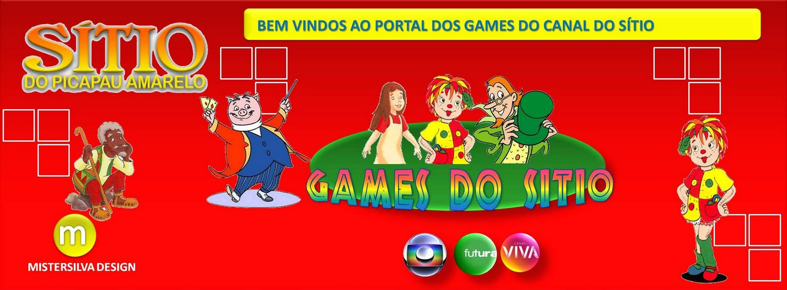 GAMES SÍTIO DO PICAPAU AMARELO