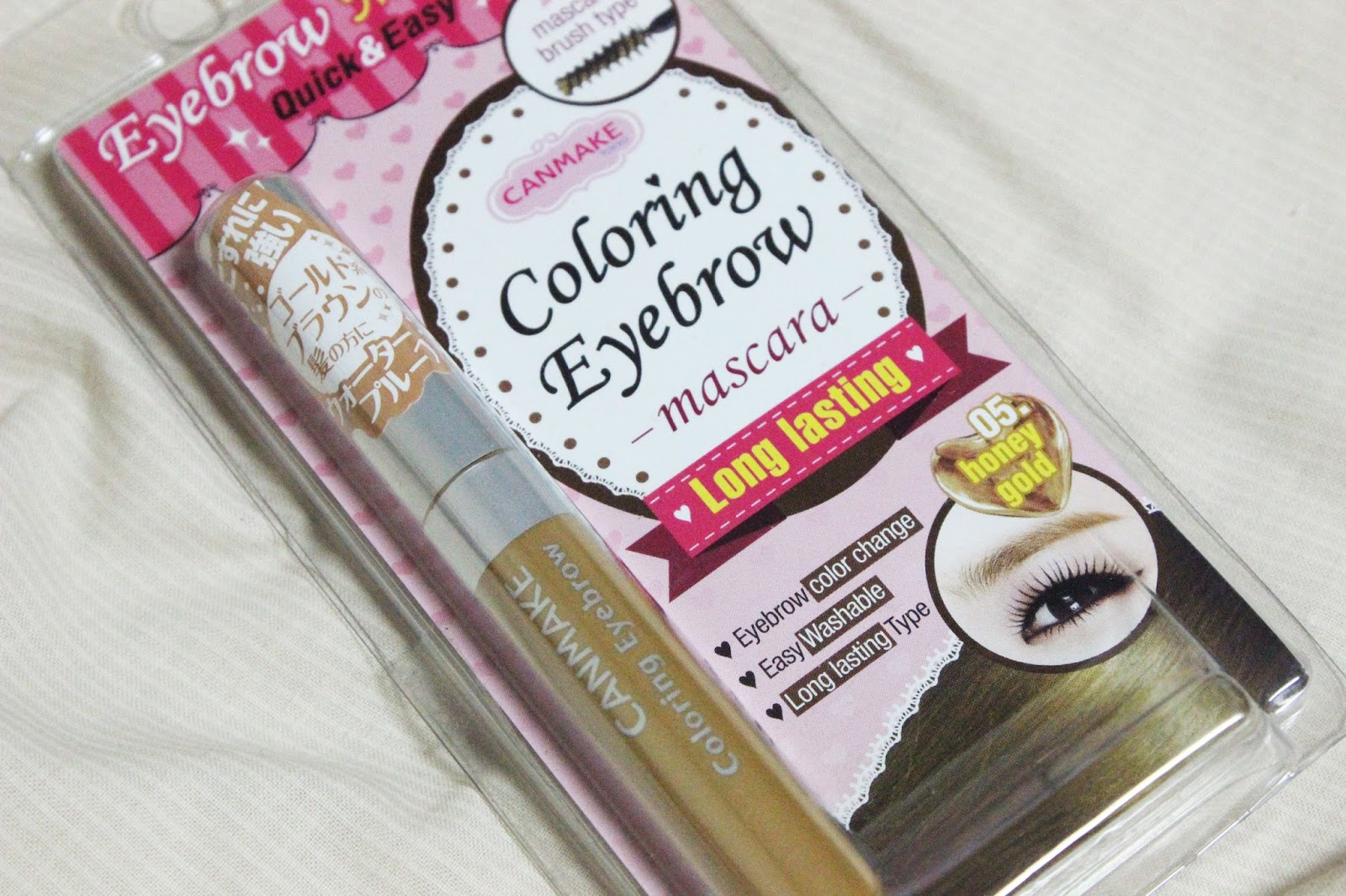 My Sugarcoffee Review Canmake Coloring Eyebrow Mascara