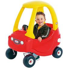 Fisher Price Red And Yellow Car