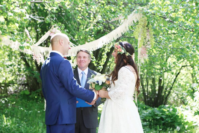 brooks and luke's wedding pt. 1
