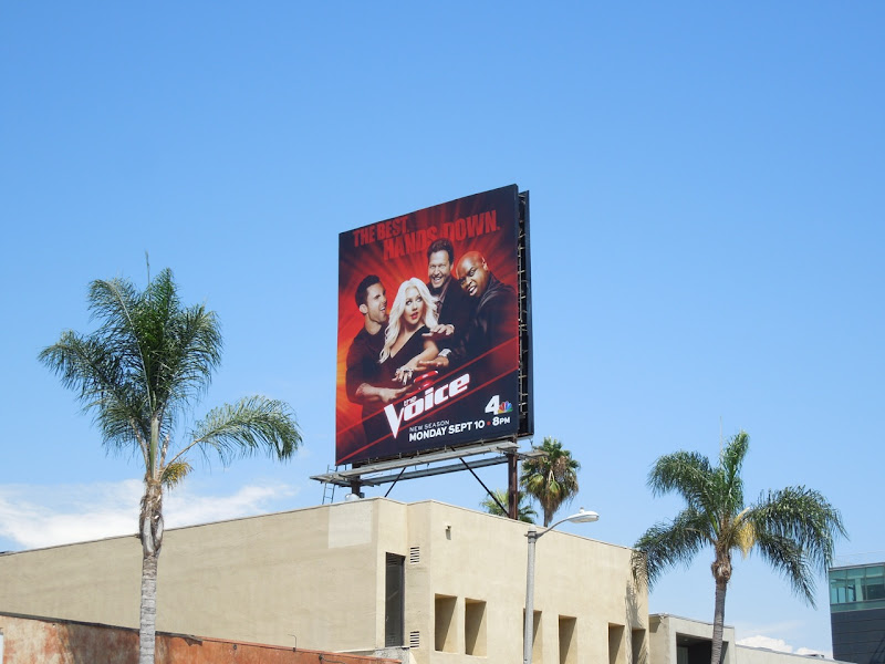 The Voice season 3 nbc billboard