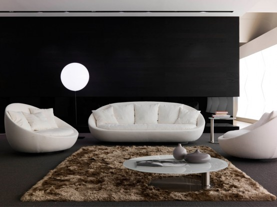 Sofas for the interior design of your living room house for Modern living room gadgets