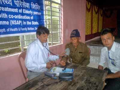 free medical camp in rangbee division