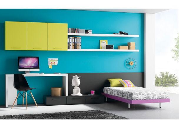 Dormitorios juveniles habitaciones infantiles y mueble - Dormitorios juveniles segunda mano madrid ...