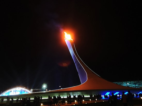 photo of Olympic torch
