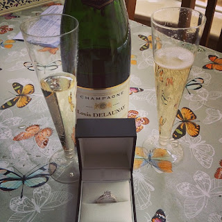 Ma Bicyclette: Rachel Is Engaged