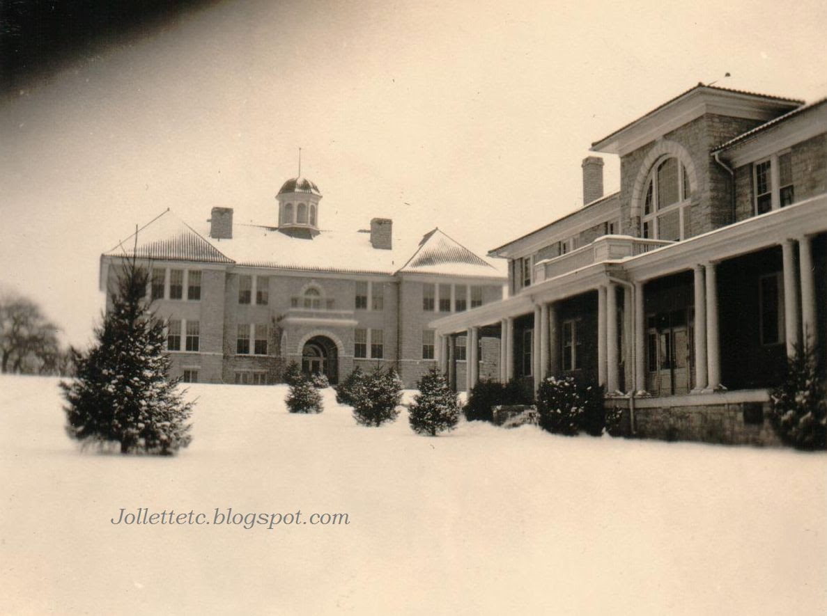 Maury and Jackson Halls, Harrisonburg Teachers College, 1920s