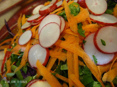 asian cabbage salad with ginger shallot dressing