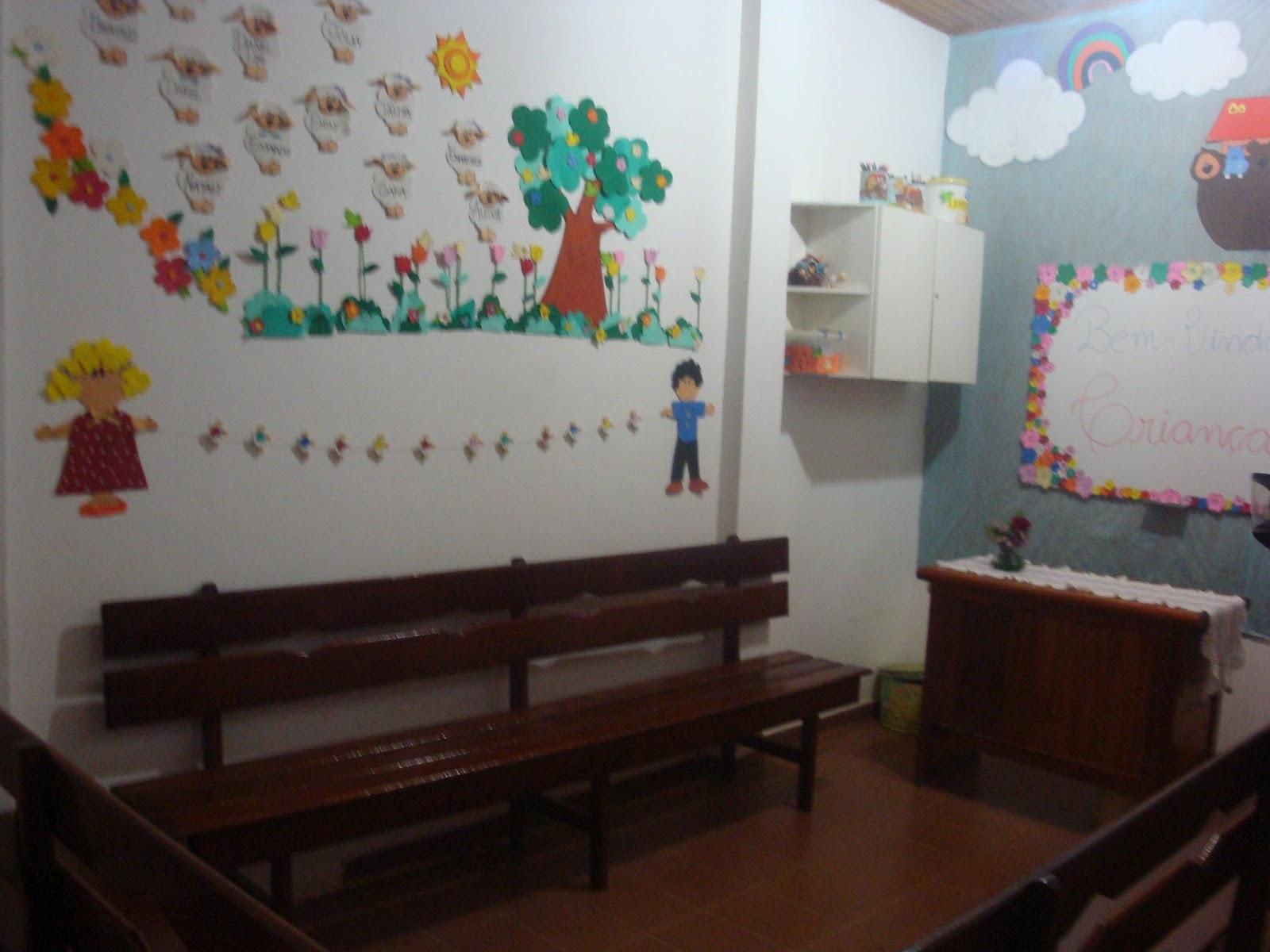 Decoracao De Sala Da Aula ~  infantil evangelicaGrande Amor de Deus Decoração para sala de aula