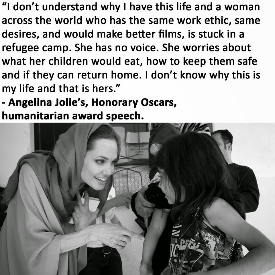 Refugee Quotes I Don't Understand Why I Have This Life And A Woman Across The
