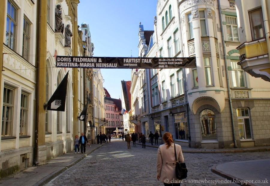 Fartist Talk, Old Town Tallinn, Estonia