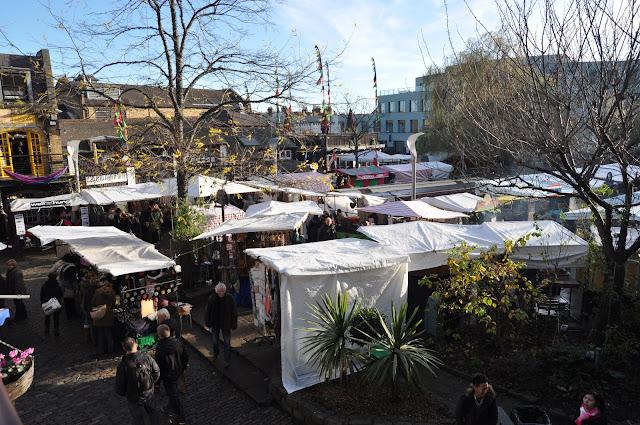 Camden Town Market handicraft stall