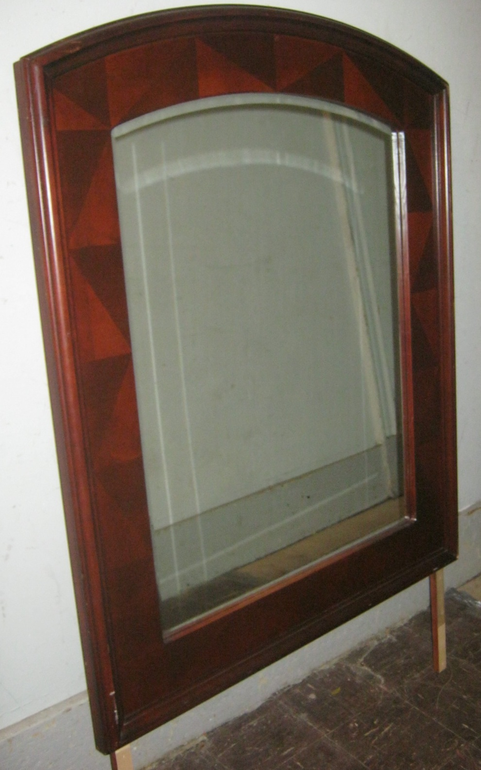 3 Piece Mahogany Bedroom By Rivers Edge  SOLD