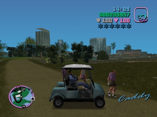 Vice city caddy