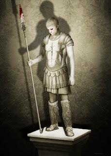 El guerrero de dios (relato). Abuelohara