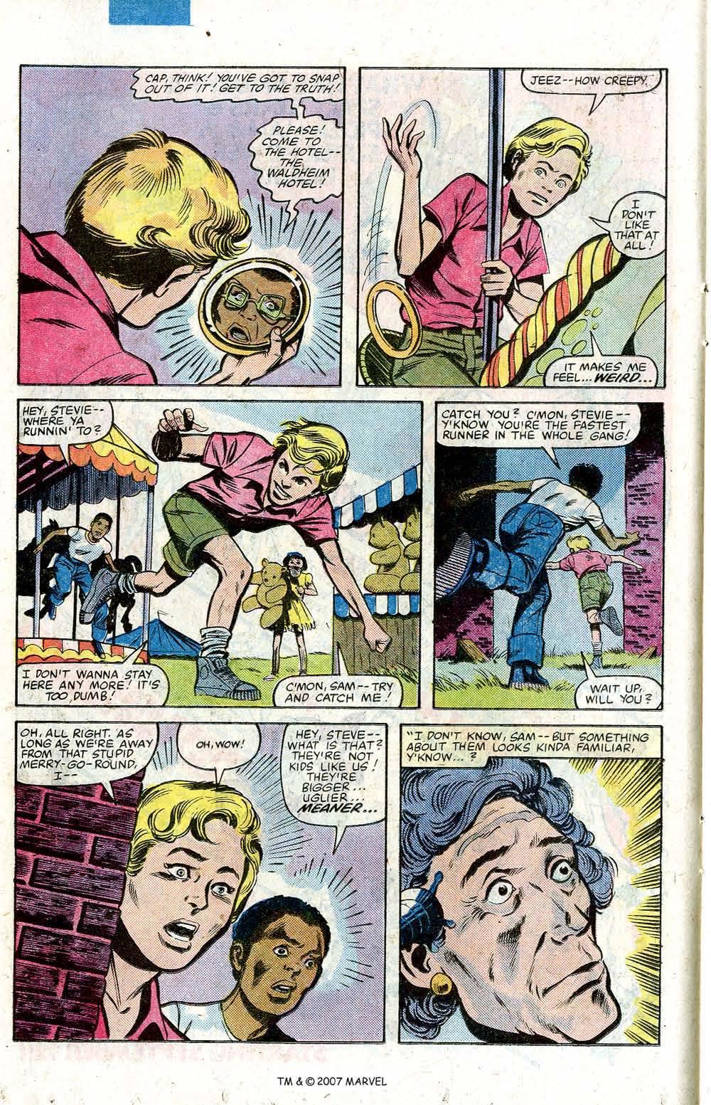 Captain America (1968) Issue #264 #179 - English 14