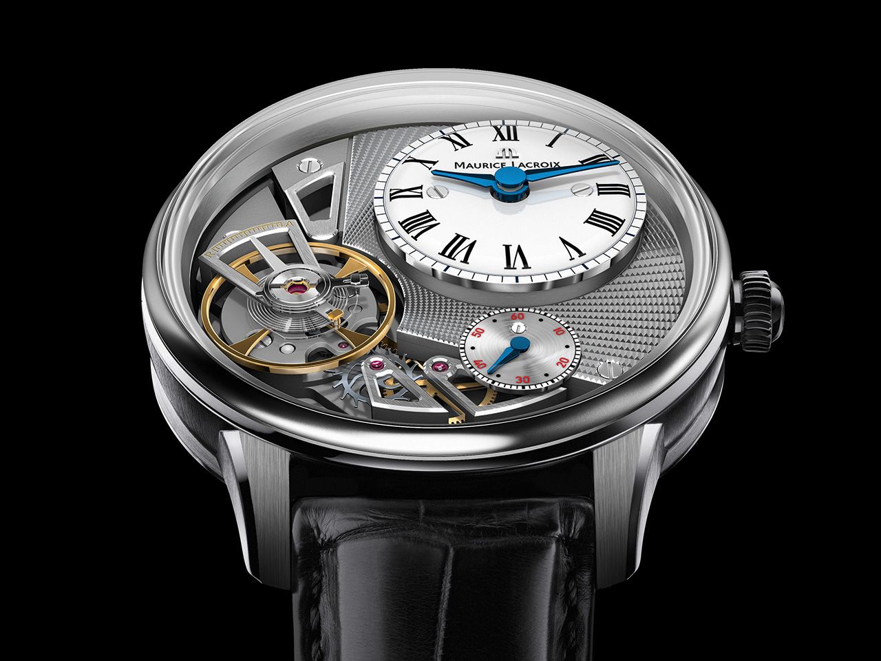 Maurice Lacroix Masterpiece Gravity Automatic Watch
