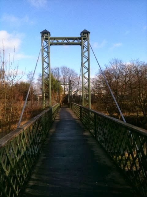 dockwray foot bridge