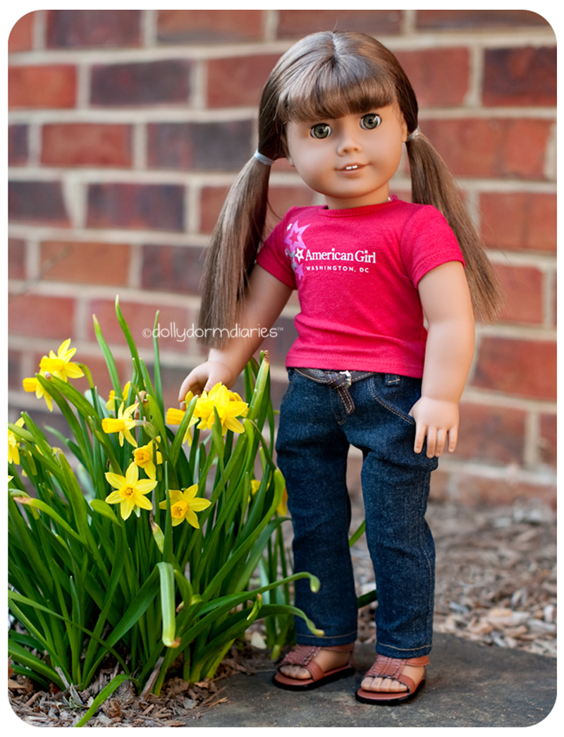 American Girl doll, Harper. Read 18 inch doll diaries at our American Girl Doll House. Visit our 18 inch dolls dollhouse!