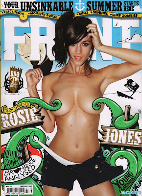 Rosie Jones Topless Big Boobs For Front Magazine