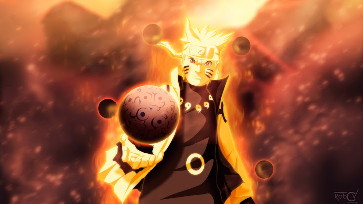 Naruto 9 Tailed Beast Mode